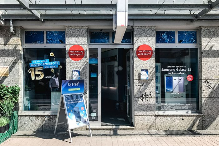 Handy Reparatur im o2 Shop Dresden Loschwitzer Straße 47