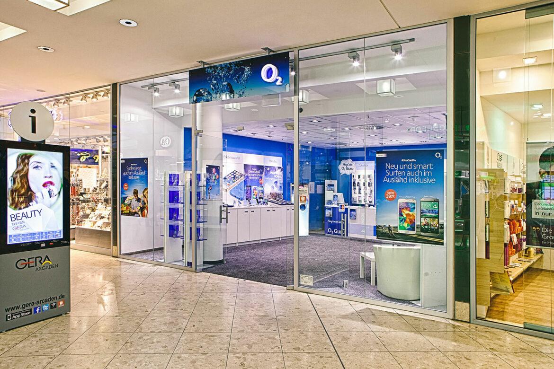 Handy Reparatur o2 Shop Gera-Arcaden