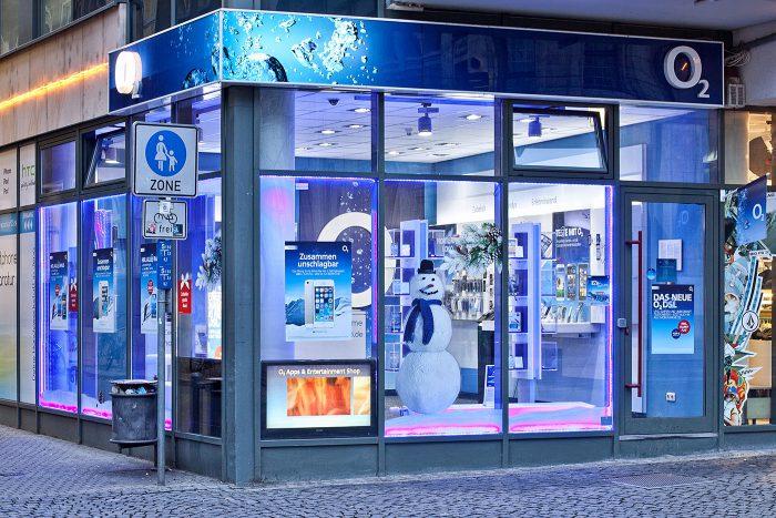 Handy Reparatur im o2 Shop Jena Holzmarktpassage
