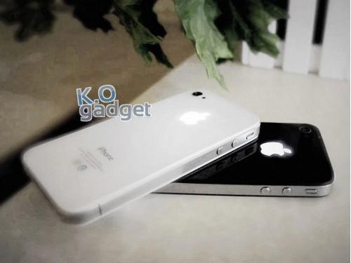 iPhone 4 / 4S mit beleuchtetem Apple Logo
