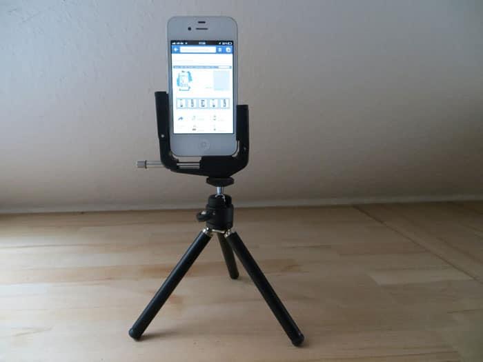 Hama Handystativ für iPhone und Smartphone