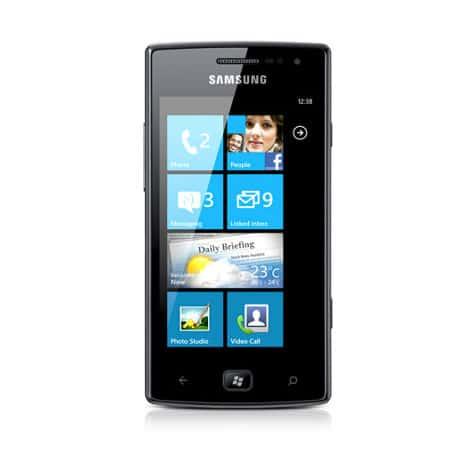 Samsung Omnia W GT I8350 Reparatur