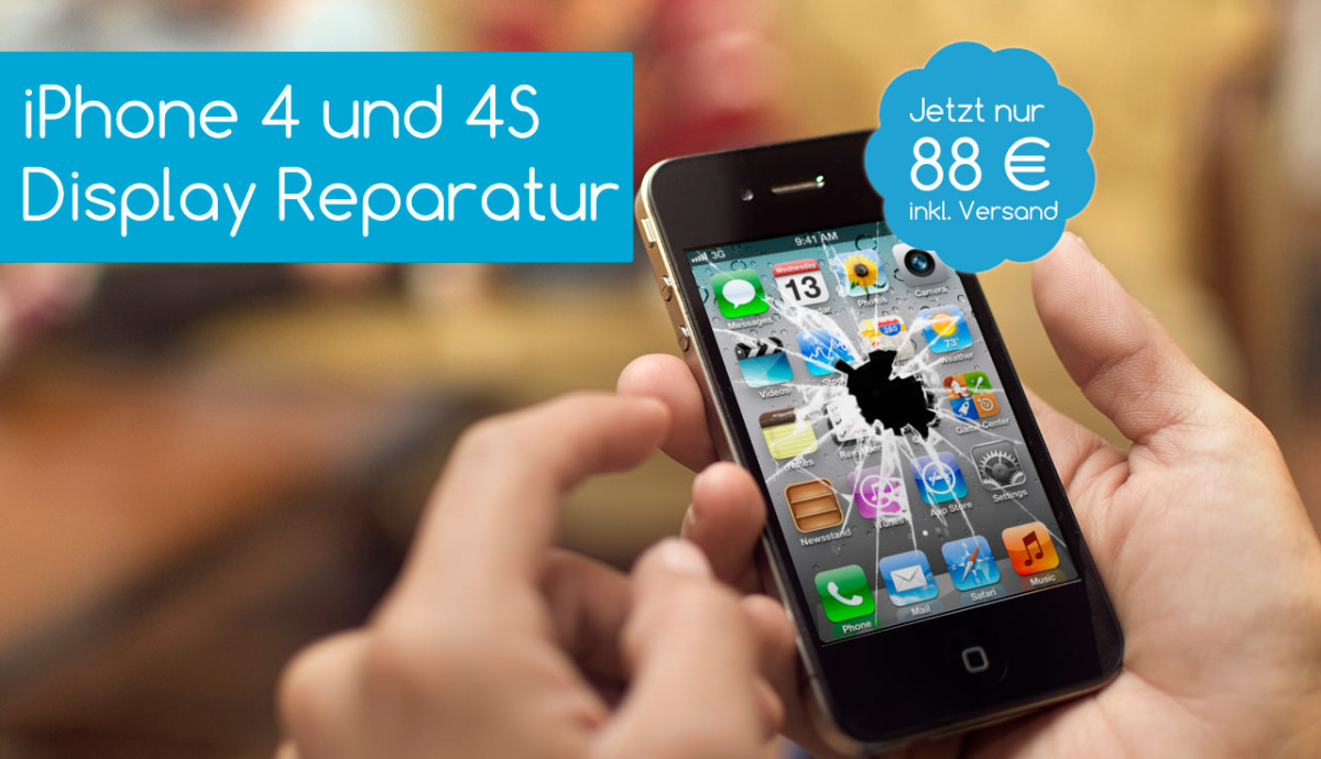 iPhone 4S Display Reparatur
