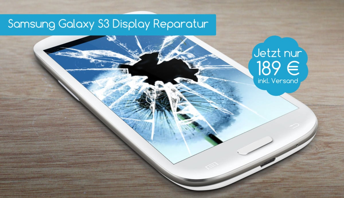 Samsung Galaxy S3 Display Reparatur