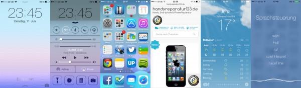 So sieht iOS 7 aus