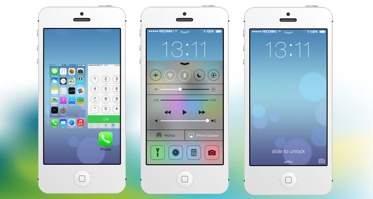 iPhone iOS 7 ausprobieren
