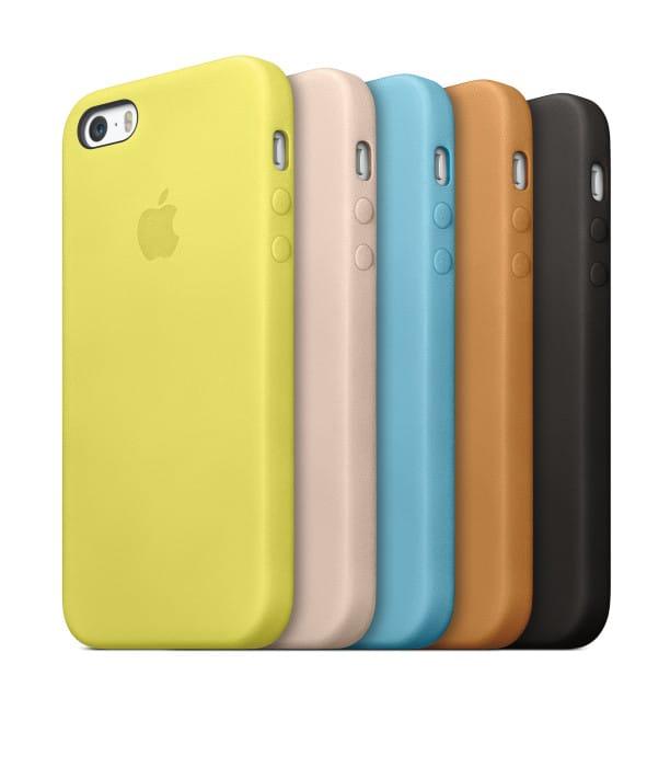 Phone 5S Lederhüllen in fünf verschiedenen Farben