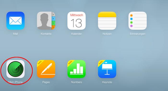 Mein iPhone iCloud