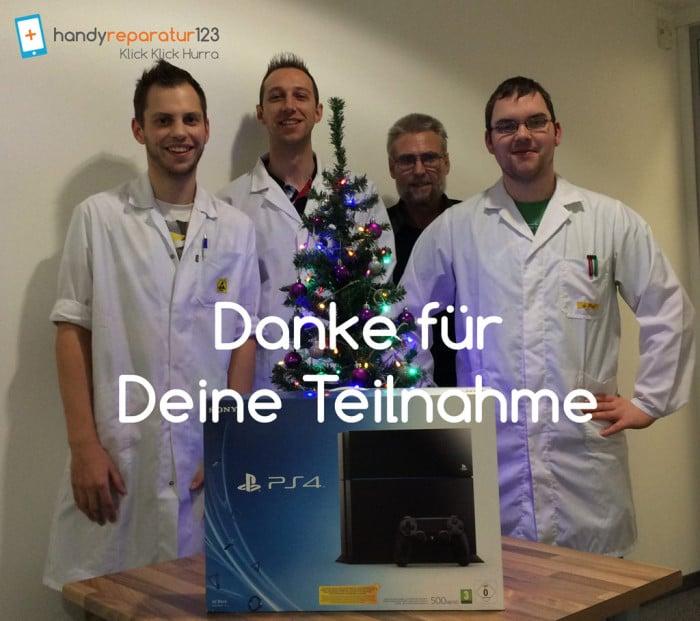 Playstation 4 Gewinnspiel