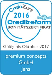 CrefoZert Bonitätszertifikat