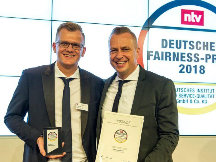 handyreparatur123 erhält Deutschen Fairness-Preis 2018