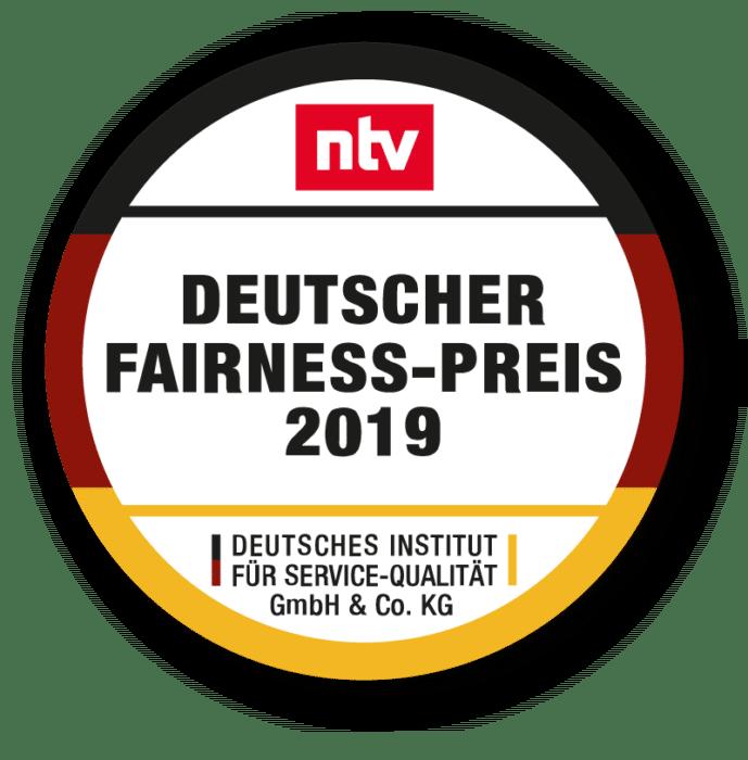 Deutscher Fairness Preis 2019