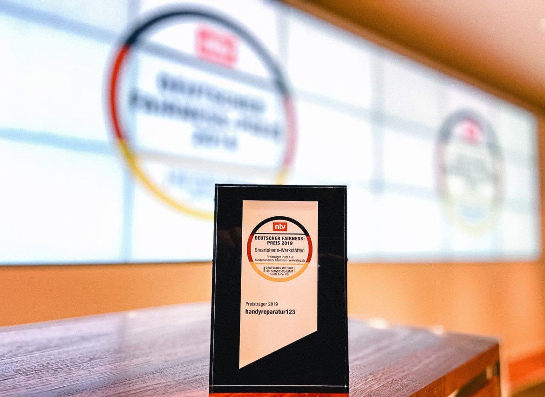 handyreparatur123 erhält Deutschen Fairness-Preis 2019